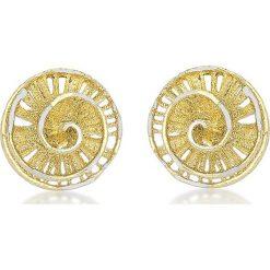 Kolczyki damskie: Złote kolczyki-wkrętki