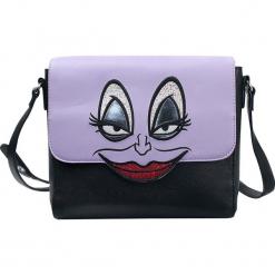 Ariel - Mała Syrenka Ursula Torba na ramię purpurowy/czarny. Czarne torebki klasyczne damskie Ariel - Mała Syrenka, z aplikacjami, małe, z aplikacjami. Za 199,90 zł.