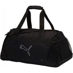 Puma Torba Sportowa Echo Sports Bag Black. Czarne torby podróżne Puma, w paski. W wyprzedaży za 99,00 zł.