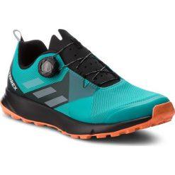 Buty adidas - Terrex Two Boa AC7906 Hiraqu/Ftwwht/Hireor. Niebieskie buty do biegania męskie Adidas, z materiału, adidas terrex. W wyprzedaży za 409,00 zł.