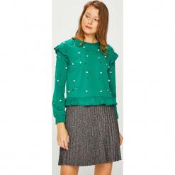 Silvian Heach - Bluza. Zielone bluzy damskie Silvian Heach, l, z bawełny. Za 349,90 zł.
