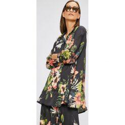Answear - Koszula. Szare koszule damskie marki ANSWEAR, uniwersalny, z poliesteru, casualowe, z klasycznym kołnierzykiem, z długim rękawem. W wyprzedaży za 79,90 zł.