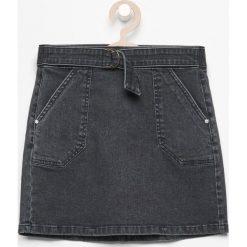 Spódniczki: Jeansowa spódnica - Szary