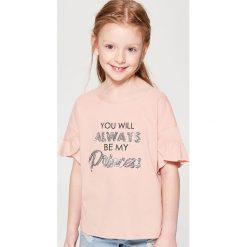 T-shirty damskie: Koszulka dla dziewczynki little princess – Różowy