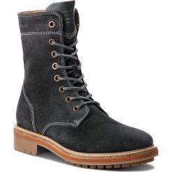 Trapery GANT - Natalie 17543926  Black/Grey G006. Szare buty zimowe damskie GANT, ze skóry. Za 739,90 zł.