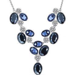 Biżuteria i zegarki: Naszyjnik z kryształkami – dł. 41 cm