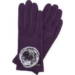 Rękawiczki damskie: 47-6-101-P Rękawiczki damskie