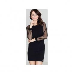 Sukienka K332 Czarny. Czerwone sukienki balowe marki House, l, z napisami, sportowe. Za 149,00 zł.