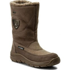 Śniegowce MANITU - 991123 Braun 2. Brązowe buty zimowe damskie marki NEWFEEL, z gumy. W wyprzedaży za 279,00 zł.