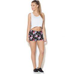 Colour Pleasure Spodnie damskie CP-020 7 różowo-czarno-zielone r. M-L. Czarne spodnie sportowe damskie Colour pleasure, l. Za 72,34 zł.