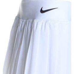 Nike Performance GIRLS VICTORY SKIRT Spódnica sportowa white/black. Białe spódniczki dziewczęce Nike Performance, z elastanu, sportowe, sportowe. Za 139,00 zł.