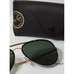 RayBan Okulary przeciwsłoneczne goldcoloured. Żółte okulary przeciwsłoneczne damskie lenonki Ray-Ban. Za 599,00 zł.