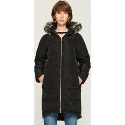 Płaszcz z zamkami - Czarny. Czarne płaszcze damskie marki Sinsay, l. W wyprzedaży za 119,99 zł.