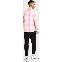 Koszule męskie na spinki: Burton Menswear London LS PINK WHITE CHECK Koszula white