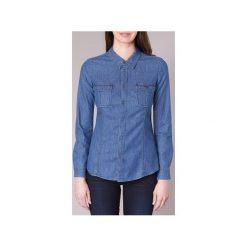 Koszule Emporio Armani  MORA. Niebieskie koszule nocne i halki marki Emporio Armani. Za 559,20 zł.