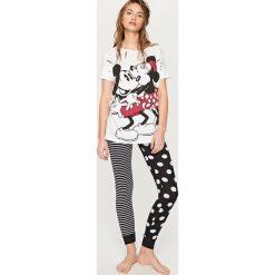 Piżamy damskie: Piżama mickey mouse – Biały