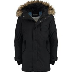 Schott NYC Płaszcz zimowy black. Czarne płaszcze na zamek męskie Schott NYC, na zimę, l, z materiału. Za 1059,00 zł.