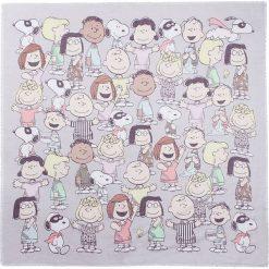 """Chusty damskie: Chusta """"Peanuts"""" w kolorze szarym – 110 x 110 cm"""