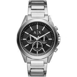 Armani Exchange - Zegarek AX2600. Czarne zegarki męskie marki Armani Exchange, l, z materiału, z kapturem. Za 949,90 zł.