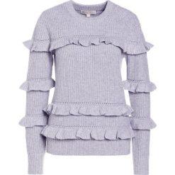 MICHAEL Michael Kors Sweter pearl heather. Białe swetry klasyczne damskie marki MICHAEL Michael Kors, m, z kaszmiru. W wyprzedaży za 521,95 zł.