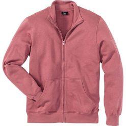 Bluza rozpinana bonprix jeżynowy. Fioletowe bejsbolówki męskie bonprix, l, z dresówki. Za 44,99 zł.