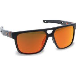 Okulary przeciwsłoneczne OAKLEY - Crossrange Patch OO9382-0960 Matte Carbon/Prizm Ruby. Szare okulary przeciwsłoneczne męskie aviatory Oakley, z tworzywa sztucznego. W wyprzedaży za 579,00 zł.
