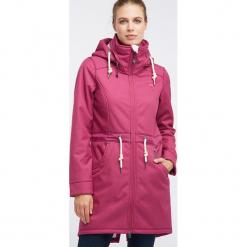 Płaszcz softshellowy w kolorze różowym. Czerwone płaszcze damskie marki Schmuddelwedda, xs, z materiału. W wyprzedaży za 304,95 zł.