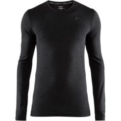 Craft Koszulka Sportowa Męska Fuseknit Comfort Ls Black Xxl. Czarne koszulki sportowe męskie Craft, m, w paski. Za 135,00 zł.