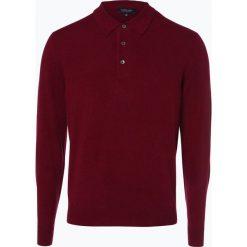 Andrew James - Sweter męski z czystego kaszmiru, lila. Brązowe swetry klasyczne męskie Andrew James, l, z kaszmiru. Za 599,95 zł.