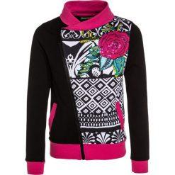 Desigual ANDERSEN Bluza rozpinana black. Czarne bluzy dziewczęce rozpinane marki Desigual, z bawełny. W wyprzedaży za 161,85 zł.