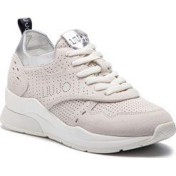 Sneakersy LIU JO - Karlie 14 B19009 PX025 White 01111. Brązowe sneakersy damskie marki Liu Jo, ze skóry. Za 739,00 zł.