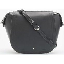 Torebka typu saddle bag - Czarny. Czarne torebki klasyczne damskie Reserved. W wyprzedaży za 79,99 zł.