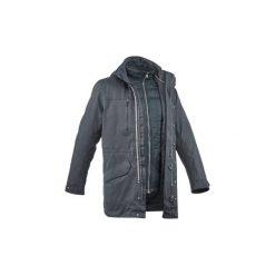 Kurtka turystyczna RainWarm 900 3 w 1 męska. Szare kurtki męskie marki WED'ZE, m, z elastanu, narciarskie. Za 499,99 zł.