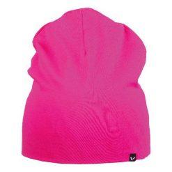 Czapka dziecięca Hex różowa (201/20/9450). Czerwone czapeczki niemowlęce Viking. Za 42,92 zł.