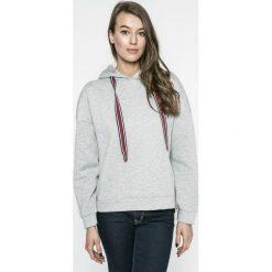 Vero Moda - Bluza Anslie. Szare bluzy z kapturem damskie Vero Moda, l, z bawełny. W wyprzedaży za 59,90 zł.
