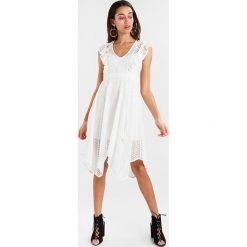 Sukienki hiszpanki: Bardot ELIAS DRESS Sukienka letnia ivory