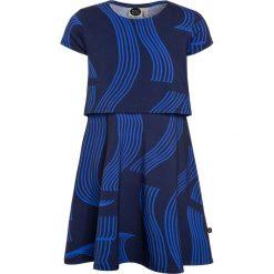Sukienki dziewczęce z falbanami: Mainio GIRLS DRESS Sukienka z dżerseju dark blue