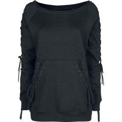 Innocent Last Vast Top Bluza damska czarny. Niebieskie bluzy damskie marki Innocent, xl, w ażurowe wzory, z materiału, z dekoltem na plecach. Za 224,90 zł.