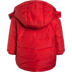 BOSS Kidswear Płaszcz zimowy rot. Niebieskie kurtki chłopięce zimowe marki BOSS Kidswear, z bawełny. W wyprzedaży za 317,40 zł.
