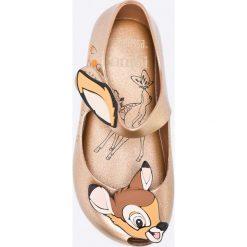 Melissa - Baleriny Ultragirl + Bambi. Szare meliski damskie marki Melissa, z gumy. W wyprzedaży za 239,90 zł.