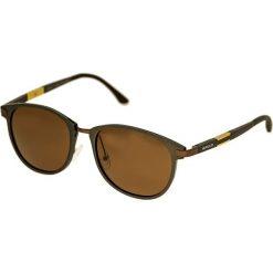 """Okulary przeciwsłoneczne męskie: Okulary męskie """"Orion"""" w kolorze brązowym"""