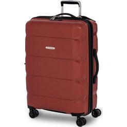 Walizka GVA czerwona r. M. Czerwone walizki marki SWISSBAGS. Za 636,70 zł.