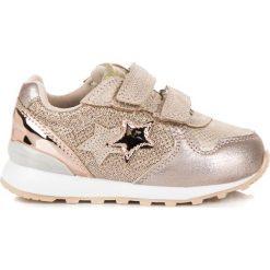 Buty dziecięce: Złote trampki z gwiazdą american HESPER