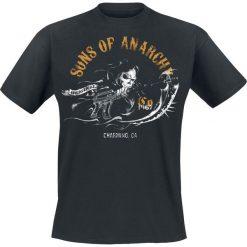 T-shirty męskie z nadrukiem: Sons Of Anarchy Charming T-Shirt czarny