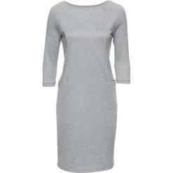 Sukienki: Sukienka bonprix szary melanż