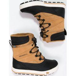 Merrell SNOWBANK 2.0 WTPF Śniegowce wheat/black. Buty zimowe chłopięce marki Merrell. W wyprzedaży za 230,30 zł.