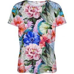 Colour Pleasure Koszulka damska CP-030 191 zielona r. XL/XXL. Zielone bluzki damskie Colour pleasure, xl. Za 70,35 zł.