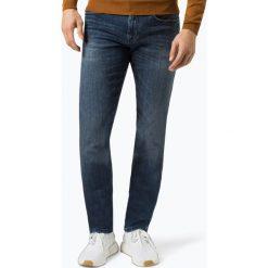 Armani Exchange - Jeansy męskie, niebieski. Czarne jeansy męskie marki Armani Exchange, l, z materiału, z kapturem. Za 579,95 zł.