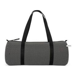Torby podróżne: Torba sportowa w kolorze czarno-białym – (S)50 x (W)24 x (G)24 cm