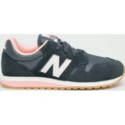 New Balance - Buty WL520CH. Szare buty sportowe damskie New Balance, z materiału. W wyprzedaży za 299,90 zł.